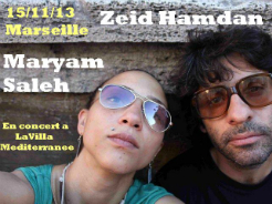 Maryam Saleh / Zeid Hamdan Live in Marseille