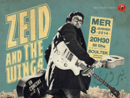 Zeid and the Wings Live in Casablanca