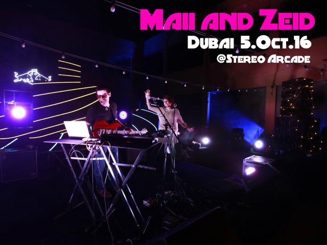 Maii and Zeid Live in Dubai